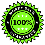 Money Back Gurantee Stamp